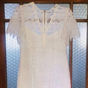 Nanette Lepore White Eyelet Dress